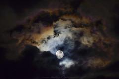 Passing Cosmic Dust (_Amritash_) Tags: cosmicdust gaseouscosmicdust astro astrophotography astrophoto moon night nightsky