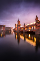 Oberbaumbrücke Blue hour (Sascha Gebhardt Photography) Tags: nikon nikkor d850 1424mm lightroom langzeitbelichtung berlin germany deutschland hauptstadt haida travel tour photoshop fototour fx roadtrip reise reisen sky spree cc
