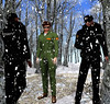 Secret Lives: Episode 29:Thursday 3/1/2018 (Teddi Beres) Tags: second life sl secret lives soap opera snow winter security guard paparazzi danger spy sneak threat