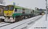 224 departs Portlaoise, 1/3/18 (hurricanemk1c) Tags: railways railway train trains irish rail irishrail iarnród éireann iarnródéireann portlaoise 2018 generalmotors gm emd 201 224 0925corkheuston
