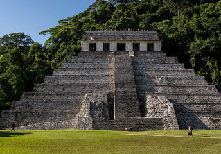 Temple of the Inscriptions. Palenque, Mexico