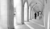 (DeZ - photolores) Tags: toronto architecture archway people nikon coolpix8700 monochrome bw blackandwhite building bnw dez