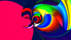 a moment of love (j.p.yef) Tags: peterfey jpyef yef digitalart abstract abstrakt kiss