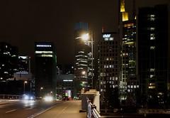 Frankfurt City by Night (Gerald Lang) Tags: lumières lights nuit nacht sonyilce7m2 architecture import17012018 allemagne lichter sonyalpha7ii germany deutschland night sonya7ii frankfurtammain architektur samyang114af50mmfeemount