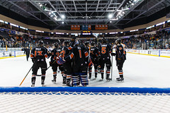 "Kansas City Mavericks vs. Toledo Walleye, January 21, 2018, Silverstein Eye Centers Arena, Independence, Missouri.  Photo: © John Howe / Howe Creative Photography, all rights reserved 2018. • <a style=""font-size:0.8em;"" href=""http://www.flickr.com/photos/134016632@N02/28060984549/"" target=""_blank"">View on Flickr</a>"