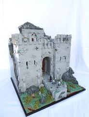 Finwër Castle (main) (Benjamin Calvetti) Tags: lego castle moc