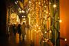 Passage Vivienne (Calinore) Tags: paris city ville france passagevivienne passagecouvert passageparisien couple nuit night woman femme men homme light guirlande hallway