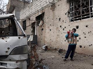 L'omnipresent guerra AFP PHOTO / ABDULMONAM EASSA SYRIA-CONFLICT