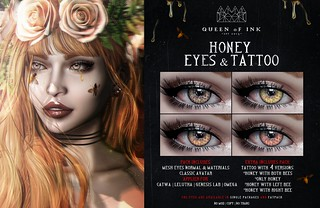 *Queen oF Ink - [Honey] Eyes & Tattoo Coming soon!!