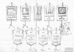 Estandartes de alas de escola de samba (Arquivo Nacional do Brasil) Tags: carnaval escoladesamba carnival braziliancarnival censura censorship arquivonacional arquivonacionaldobrasil nationalarchivesofbrazil história memória