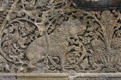 Facade of Qasr Mshatta, Umayyad, 8th cent.; Pergamon Museum, Berlin (16) (Prof. Mortel) Tags: germany berlin pergamonmuseum islamic umayyad mshatta