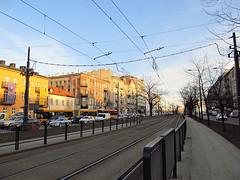 Tram line in Warsaw (transport131) Tags: infrastruktura infrastructure tram line warszawa warsaw praga targowa ulica street