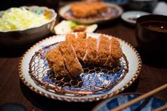 DSCF8922 (aaroncaley) Tags: japan tokyo food japanesefood pork cutlet tonkatsu