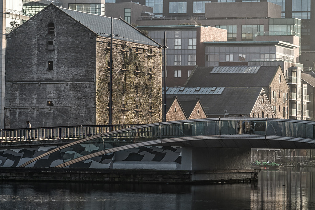 MacMAHON BRIDGE ON PEARSE STREET [MISTY DAY 11 JANUARY 2018]-135500