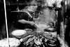 Cooking/reflection (wanderandclick) Tags: fujifilmx asia fujifilmx100f cooking x100f city fujifilm travelling man travel hongkong reflection hongkongsar streetfood china chef holiday kowloon hk