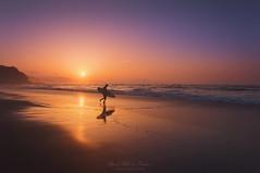 Dusk rider (Mimadeo) Tags: surfer entering water sunset shore sea beach man silhouette surfboard summer surf surfing rider shoreline sand dusk sky board evening sopelana vizcaya bizkaia paisvasco euskadi basquecountry euskalherria spain sun