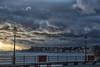 un cielo carico di ... (manuela albanese) Tags: manuela albanese photo mare mareggiata mediterranean mindfulness sea clouds cloud genova genoa liguria winter wind sunset tramonto oceano acqua cielo sabbia spiaggia baia persone nella foto