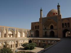P9234444 (bartlebooth) Tags: iran qom shia shite muslim holy sacred islam persian iranian dome minaret olympus e510 evolt kashan isfahanprovince esfahanprovince