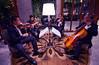 Heavy metal lobby band (Asiacamera) Tags: asiacamera bangkok thailand orientalhotel mandarinoriental cello