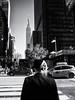Empire State (Feldore) Tags: newyork empire state building jewish man cap behind traditional street candid feldore mchugh em1 olympus 17mm 18 beard kippah orthodox