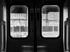 Jailed #8 (franleru1) Tags: francoiselerusse london londres photoderue uk blackandwhite chemindefer graphic monochrome railway streetphotography train urbain urban urbanlandscape urbandisaster urbanisme