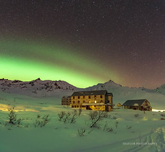 Room with a view (Traylor Photography) Tags: arch goldcordroad historic palmer auroraborealis stars mountains milkyway norhternlights hatcherspass lightsource fishhookwillowroad independencemine alaska unitedstates us