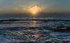 Sunrise Seascape (Merrillie) Tags: daybreak sunrise headland rockplatform newsouthwales rocks pearlbeach nsw ocean morning sea earlymorning landscape waterscape sky seascape dawn nature water australia