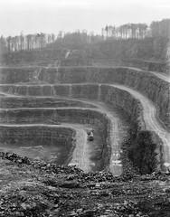 The mine. (wojszyca) Tags: intrepid camera 4x5 largeformat fujinon w 210mm foma retropan 320 soft hc110 1150 standdevelopment epson v800 manufactured landscape industry industrial mine mining