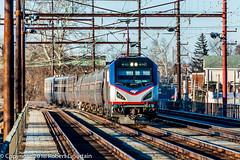 Amtrak 610 on 98, Chester, 2018-01-14 (redheadedrobbie1) Tags: amtrak nec northeastcorridor silvermeteor railroad railfan siemens acs64 citiessprinter sprinter passenger electric motor longdistancetrain