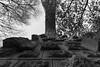 Aqueduc de Roquevafour (Lionelcolomb) Tags: noiretblanc noirblanc bw gris blackwhite grey architecture arche arc aqueduc aixenprovence provence provencealpescôtedazur france 13 construction arbres tree sky ciel clouds nuages nature extérieur outdoor perspective canon canon1200d sigma bâtiment pont