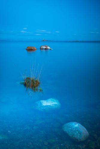 Bluehour - Yv från Saltskär en iskall kväll i november.