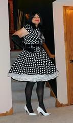 Dot 2 (Deedee Fullskirt) Tags: crossdresser petticoat transvestite highheels