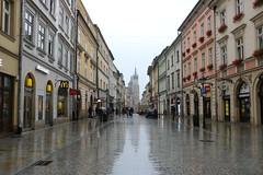 Kraków Florianska in the rain 3 IMG_7699 (david.neville2776) Tags: kraków floriańska rain