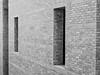 Holes in the Wall (Explored) (lclower19) Tags: takeaim minimalism brick windows wall peabodyessexmuseum salem massachusetts black white bw architecture explored