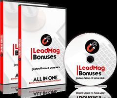 LeadMag Bonuses Review – Secret Bonus Toolkit from a TOP Marketer (Sensei Review) Tags: internet marketing leadmag bonuses bonus download joshua firima oto reviews testimonial