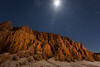 Convoluted (Jeffrey Sullivan) Tags: badlands moonlit moon night cathedral gorge state park pioche nevada united states usa travel landscape nature photography canon eos 5d mark ii dslr digital camera photo copyright march 2015 jeff sullivan eroded