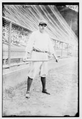[Babe Ruth, New York AL (baseball)] (LOC) (The Library of Congress) Tags: libraryofcongress dc:identifier=httphdllocgovlocpnpggbain30907 baseball backstop pologrounds baberuth ruth newyorkyankees yankees majorleaguebaseball americanleague al baseballbat