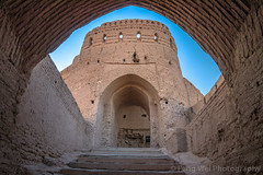 Narin Castle, Meybod, Yazd Province, Iran (Feng Wei Photography) Tags: ancient persianculture middleeast brickwall islam persian landmark ancientcivilization lowangleview colorimage clearsky tourism citadel islamic castle architecture famousplace builtstructure iran iranianculture travel yazdprovince islamicculture nopeople outdoors meybod traveldestinations horizontal narincastle fort yazd irn facade oldruin archaeology
