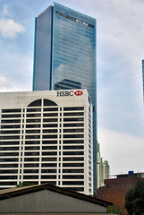 WTC Jakarta Baru (Ya, saya inBaliTimur (leaving)) Tags: jakarta building gedung architecture arsitektur office kantor