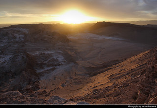 Sunset, Valle de la Luna, Chile
