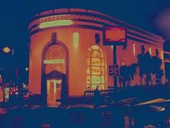 (sftrajan) Tags: edited 400castrostreet bankofitaly night marketstreet thecastro bankofamerica branch castrostreet gradientmap color 94114