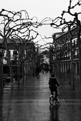 Paseos (Ngonzalezc) Tags: cloudy black white rainy