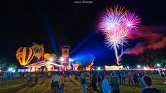 Penang Hot Air Balloon Firework 2018 (Marcus Lim @ WK) Tags: hotairballoon landscape night nightscape firework light crowded people nikon tokina wide