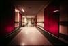 Through the corridors of my mind (Explored) (G. Postlethwaite esq.) Tags: derby derbyshire royalderbyhospital corridor photoborder