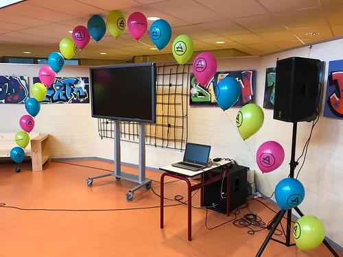 Heliumboog Bedrukt Praktijkonderwijs Accent Cappelle aan den IJssel