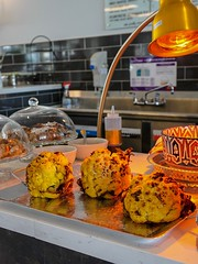 whole roasted turmeric cauliflower from Jaffa (frodnesor) Tags: strochmarket miami designdistrict foodhall jaffa middleeastern