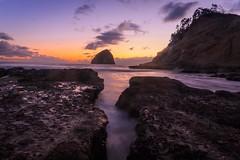 Cape kiwanda, Oregon (viewsfromthe5) Tags: color sunrise sunset beach coast ocean oregon