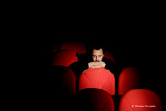 (Monica Muzzioli) Tags: people red theatre teatro director light shadow black