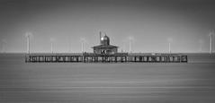 Herne Bay Old Pier (Paul K Martin) Tags: 18200mm nikond300s blur slow longexposure 10stop nd10 leebigstopper ruin abandoned water sea southeast england kent pier hernebay