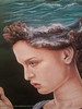 oil painting (m.hoseinjo) Tags: stormy upset person sea rock painting oil colored canvas blue green beautiful cute eye freckles thought pray imagination